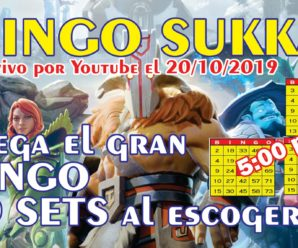 JUEGA EL BINGO DE SUKKA SORTEAMOS 10 SETS DE DOTA 2 AL ESCOGER